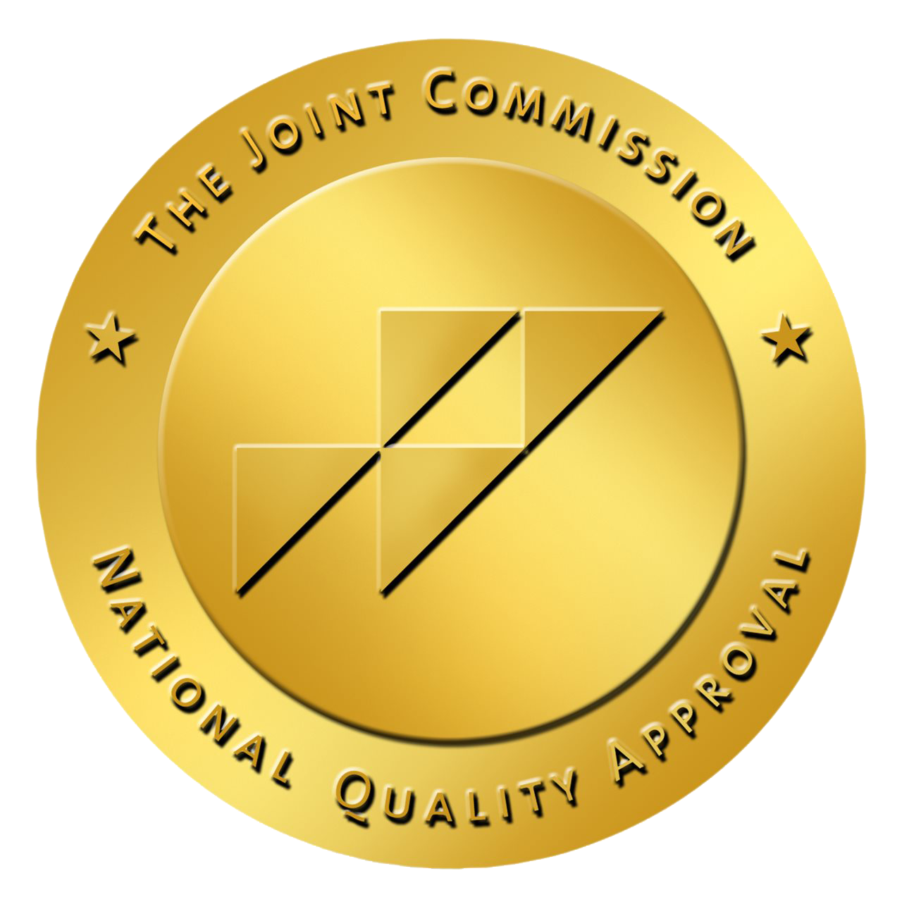 Badge for the Joint Commission National Quality Approval